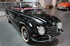 Retro automobile nera di Audi Immagine Stock Libera da Diritti