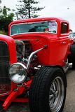 Retro automobile. Rocce del Cooly sul festival Fotografia Stock