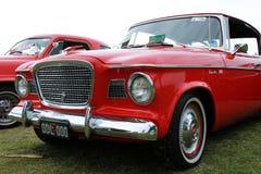Retro automobile. Rocce del Cooly sul festival Fotografia Stock Libera da Diritti