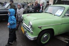 Retro automobile russa Fotografia Stock