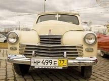 Retro automobile russa Pobeda (vittoria) Fotografia Stock Libera da Diritti