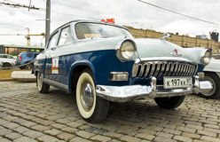 Retro automobile russa Volga Immagini Stock Libere da Diritti
