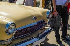 Retro automobile sovietica Immagine Stock