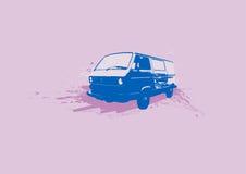 Retro automobile. Vettore Fotografia Stock