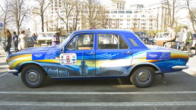 Retro automobile Volga Fotografia Stock Libera da Diritti