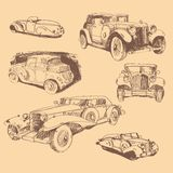 Retro automobiles Royalty Free Stock Images