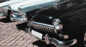 Retro automobili come simbolo di stile e di eleganza Immagine Stock