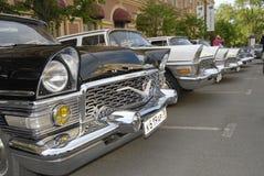 Retro automobili russe immagini stock libere da diritti