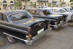 Retro automobili russe immagini stock