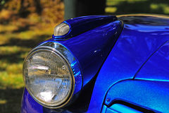 Retro automotive headlight Stock Photo