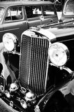 Retro- Autonahaufnahme des Sunbeam Stockfoto