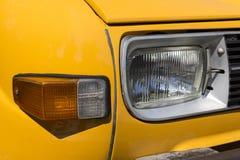 Retro- Autoparadescheinwerfer Lizenzfreie Stockfotografie
