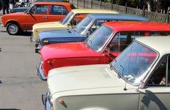 Retro- Autos von UDSSR Lada Stockbild