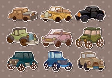 Retro autostickers Royalty-vrije Stock Fotografie