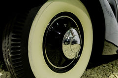 Retro autowiel Stock Fotografie