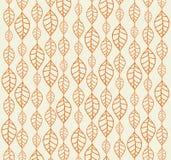 Retro autumn leaves backgrounds. Pastel retro backgrounds with orange autumn leaves Stock Photography