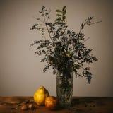 Retro autumn still life Stock Photo
