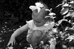Retro baby Royalty Free Stock Image