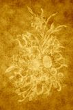 Retro background. Absract background floral wall texture vector illustration