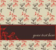 Retro background. With place for text Royalty Free Stock Photo
