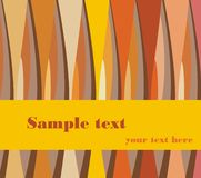 Retro background. With place for text Royalty Free Stock Photography