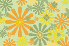 Retro Background. Colorful retro style background design Stock Illustration