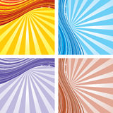 Retro background. Colored retro vector backgrounds for your text vector illustration