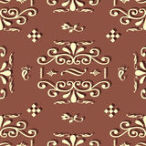 Retro background. With droped shadow Royalty Free Stock Photo