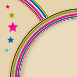 Retro-background. Illustration for your design Stock Image