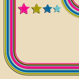 Retro background. Illustration for your design Royalty Free Stock Image