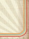 Retro background. Background in style of a retro for your text Royalty Free Stock Photography