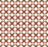 Retro background. Retro 70's style background - seamless tile Royalty Free Stock Photos