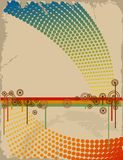Retro background. Background in style of a retro for your text Royalty Free Stock Image
