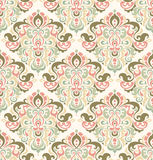 Retro background. Seamless background with colorful retro ornament Royalty Free Stock Images