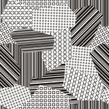 Retro background. Black and white retro background Royalty Free Illustration