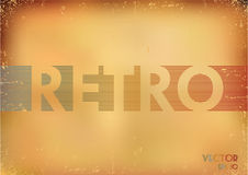 Retro background. Royalty Free Stock Photos