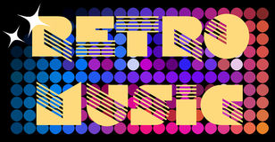 Retro background. Abstract retro background in multi color tones Royalty Free Stock Images