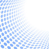 Retro background. Center focused beautiful blue retro background -  illustration Stock Photo