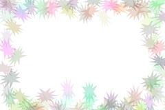 Retro Background. With multiple sized stars Stock Image