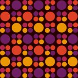 Retro background. Retro style dotted lovely background Royalty Free Stock Photos