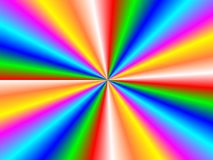 Retro Background. Background appear with isolated rainbow rays Royalty Free Stock Photo