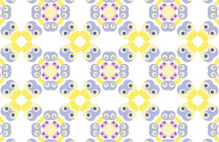 Retro background. Repeated pattern wallpaper - background design - additional ai and eps format available on request Stock Photos