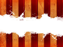 Retro background with beige and red lines and text space Royalty Free Stock Photography