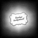 Retro background in black and white gamut Stock Photography
