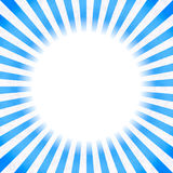 Retro background with blue rays Royalty Free Stock Images