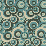 Retro background with circles Royalty Free Stock Image