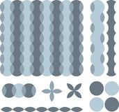 Retro background with elements. Available in vector format Royalty Free Stock Photos