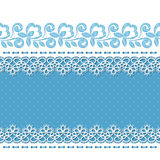 Retro background with lace borders Royalty Free Stock Photos