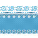 Retro background with lace borders Royalty Free Stock Photography