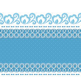 Retro background with lace borders Royalty Free Stock Image